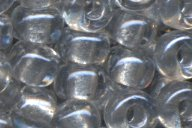 6-1105 Sparkle Pale Gray Lined Crystal